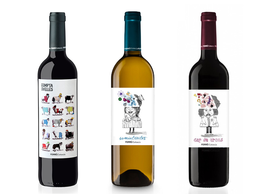 vins xoostudio packaging naming terrassa
